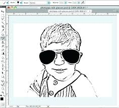 Make Picture Into Coloring Page Photoshop Photo Into Coloring Page