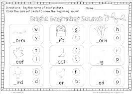 Consonant Digraphs Worksheets Kindergarten Phonics For Letter A Full ...