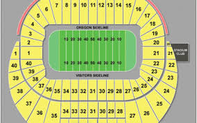 Autzen Stadium Seating Chart Virtual Seating At Autzen Stadium Hot Trending Now