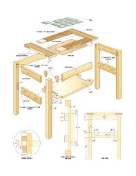 tables luxury table woodworking plans free 15 mission side 2 luxury table woodworking plans free