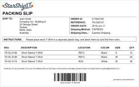 Configure Packing Slips Starshipit Support