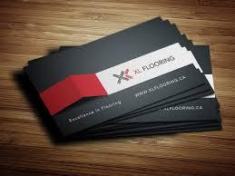 xlflooring business card design solocube02