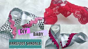 baby barefoot sandals step by step tutorial