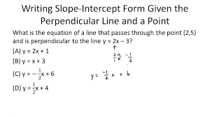 slope intercept formula calculator equations of perpendicular lines algebra ck foundation thumb slope intercept formula equation
