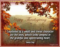 greatful autumn happy thanksgiving quote