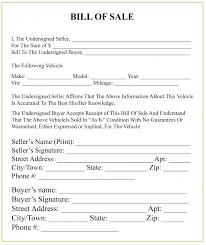 Michigan Bill Of Sale Form For Dmv Car Boat Pdf Word