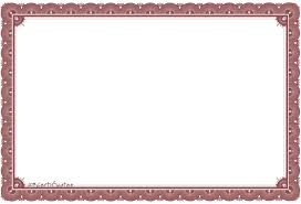 gift certificate frame clipart clipart kid top 10 certificate borders for all occasions template s