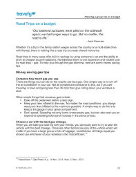 Trip Planner Gas Cost Planning A Group Trip On A Budget Ebook