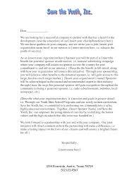 Cover Letter Sample Cover Letter For Sponsorship Sample Cover