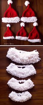 Crochet Santa Hat Pattern Custom Design Ideas