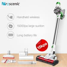 Light Cordless Vacuum Us 107 64 61 Off Proscenic P9 Cordless Vacuum Cleaner 15000pa Powerful Suction Led Light Stick Handheld Portable Vacuum 2 In 1 In Vacuum Cleaners