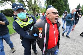 From friday, the state of victoria will be subject to a lockdown (image melbourne lockdown: Police Arrest Demonstrators At Melbourne Protest Against Victoria S Coronavirus Lockdown Restrictions Abc News