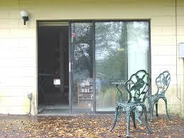 vintage triple sliding glass patio doors