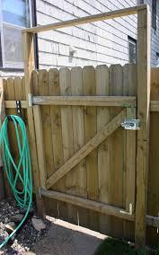 Wonderful Wood Fence Gate Plans Build On Design Decorating