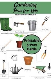 gardening ideas for kids printable 3