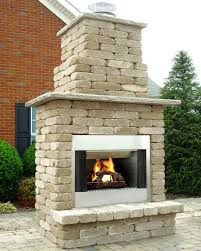 12 photos gallery of stunning outdoor fireplace kits