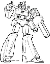 Optimus Prime Coloring Pages Present Prime Coloring Page Optimus