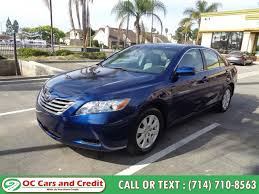 used 2008 toyota camry in garden grove california oc cars and credit garden