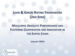 Star Framework Ppt Lean Green Rating Framework 2nd Star Powerpoint