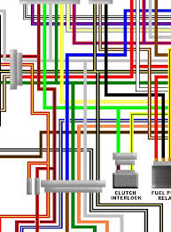 zzr1100 colour motorcycle wiring loom diagrams kawasaki zzr1100 c1 c3 uk colour wiring diagram