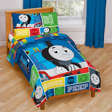 Amazon.com: Thomas and Friends 4 Piece Toddler Bed Set: Home \u0026 Kitchen