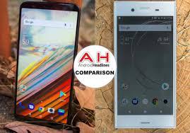 Phone Comparisons Oneplus 5t Vs Sony Xperia Xz1