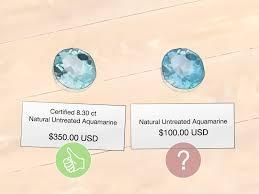 Aquamarine Clarity Chart 3 Ways To Buy Aquamarine Gemstone Wikihow