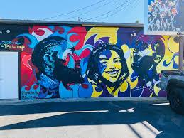 Kobe GiGi and Nipsey mural Burbank ...