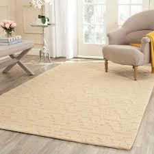 isaac mizrahi by safavieh aztec stripe beige camel wool rug 4 x 6