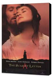 the scarlet letter movie poster 1995
