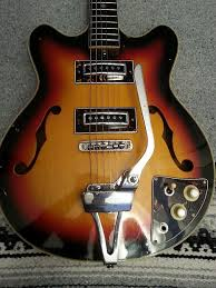 vintage semi hollowbody guitar 1960 s teisco reverb description shop policies