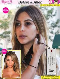 celebrities without makeup photos kim