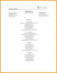 Reference Pages For Resumes Sample Reference Page For Resume Skinalluremedspa Com