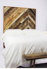 recycled pallet twin headboard