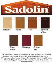 Sadolin Classic Colour Chart Sadolin Exterior Wood Paint Colour Chart Dulux Trade