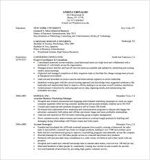 marketing analyst resumes