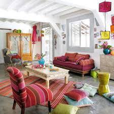 Image of: Boho chic home decor