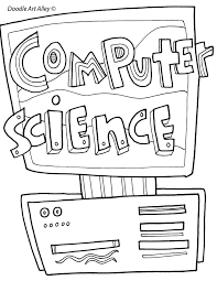Even if your child falls into a normal emotional health range, still coloring can help the child to process their frustrated feelings and emotions from a profound habit of coloring pages. Computer Technology Coloring Pages Classroom Doodles