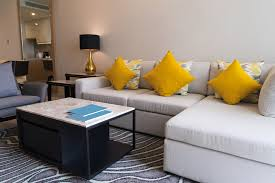 a corner sofa for small rooms