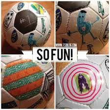 Decorate Your Own Soccer Ball