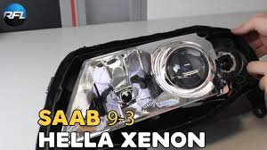Saab 9 3 Fog Light Bulb Replacement Saab 9 3 Hella Xenon Projector Replacement For New Evox R Projector Headlight Replacement