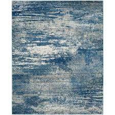 evoke navy ivory 8 ft x 10 ft area rug
