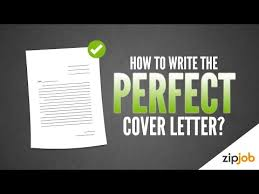 How To Write A Cover Letter (Example Included) - Youtube