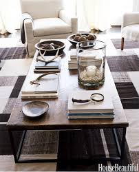 ... Coffee Table, Amazing Brown And Black Rectangle Rustic Wood And Iron Coffee  Table Decoration Ideas ...