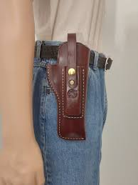 Leather Magazine Holder Gun Magnificent Packer Holster With Magazine Pouch America's Gun Store LLC