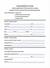 Transfer Request Form 24 Employee Transfer Form Sample Free Sample Example Format Download 21