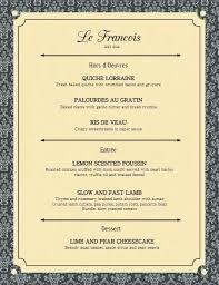 Restaurant Menu Card Template Templates Free Download Printable Wedding