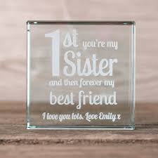 personalised gl n 1st you re my sister forever best friend gettingpersonal co uk