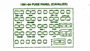 2014 car wiring diagram page 222 91 94 chevrolet cavalier sunbird fuse box diagram