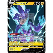 Toxtricity V (Low Key) Custom Pokemon Card – ZabaTV